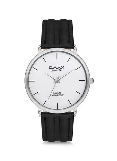 Omax 00Sc7491Iba3 Deri Kayışlı Kasa Kol Saati Renksiz